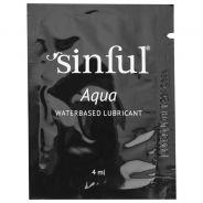 Sinful Aqua Vesipohjainen Liukuvoide 4 ml