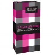 Sir Richard's Pleasure Dots Kondomit 12 kpl
