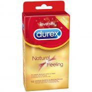 Durex Natural Feeling Lateksittomat Kondomit 10 kpl