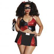 Dreamgirl Plus Size Harley Quinn Rooliasu