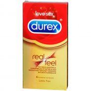 Durex RealFeel Lateksittomat Kondomit 8 kpl