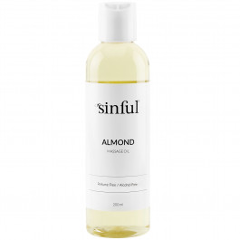 Sinful Manteli Hierontaöljy 200 ml