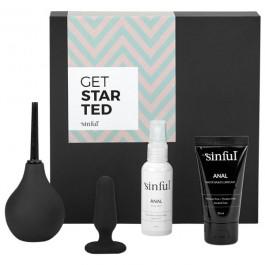 Sinful Get Started Aloittelijan Anaalipakkaus ja A-Z Opas