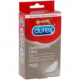 Durex Feel Ultra Thin Ohuet Kondomit 10 kpl