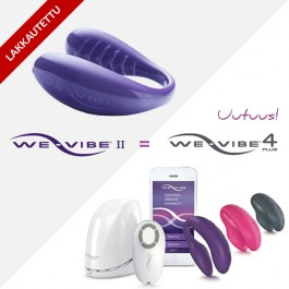 We-Vibe II Plus Maailman Suosituin Vibraattori Pareille