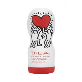 TENGA Original Deep Throat Cup Keith Haring