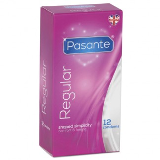 Pasante Regular Kondomit 12 kpl