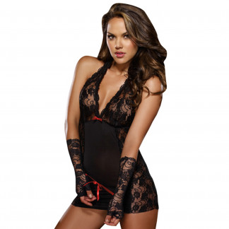 Dreamgirl Restrained Passion Pitsinen Chemise