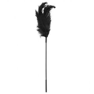 Sportsheets Ostrich Tickler Musta Höyhenkutitin