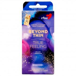 RFSU True Feeling Kondomit 8 kpl