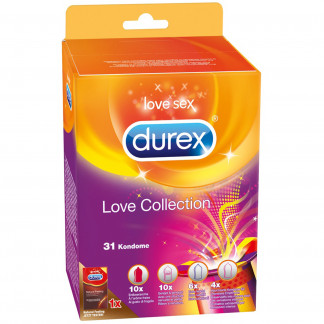 Durex Love Collection Kondomit 31 kpl