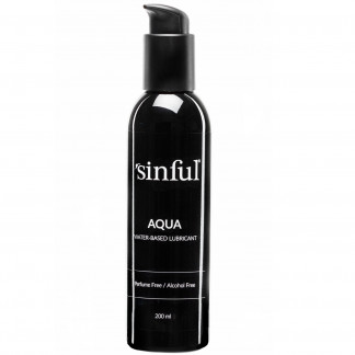 Sinful Aqua Vesipohjainen Liukuvoide 200 ml