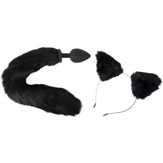 Bad Kitty Anustappi Kissanhännällä ja Korvat