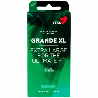 RFSU Grande XL Kondomit 15 kpl