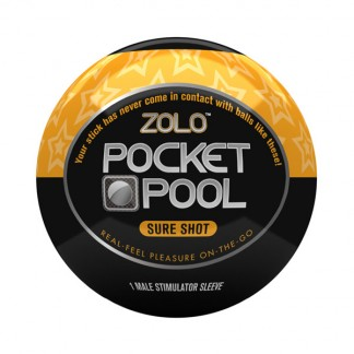 Zolo Pocket Pool Sure Shot Itsetyydytin