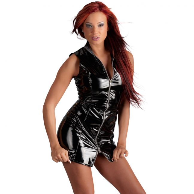 Black Level Lyhyt PVC-mekko
