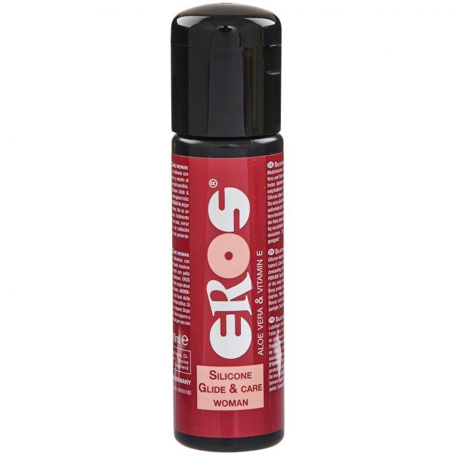 Eros Woman Silikonipohjainen Liukuvoide 100 ml