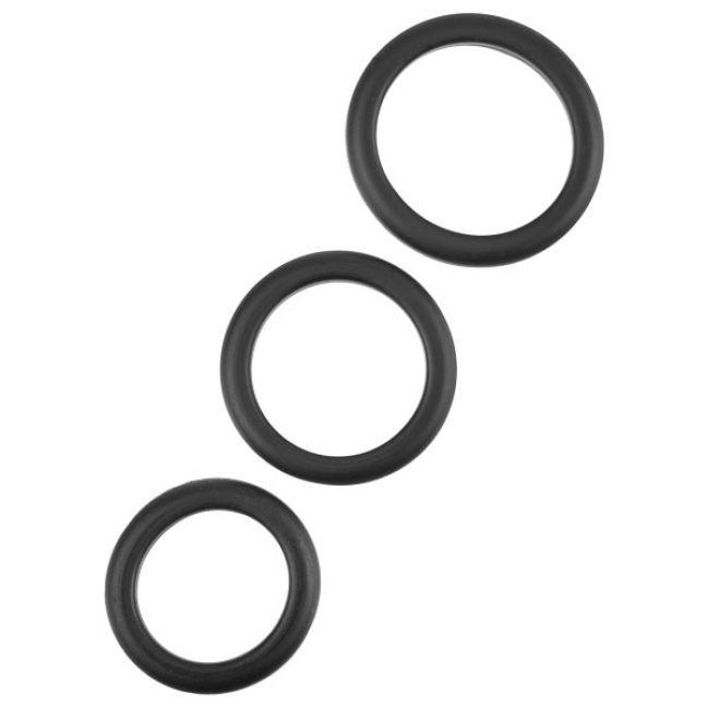 Musta Penisrengassetti 3 kpl