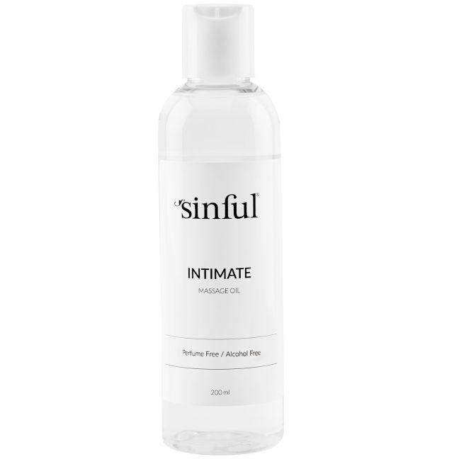 Sinful Intiimihierontaöljy 200 ml