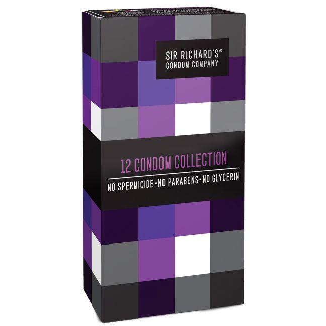 Sir Richard's Collection Kondomit 12 kpl