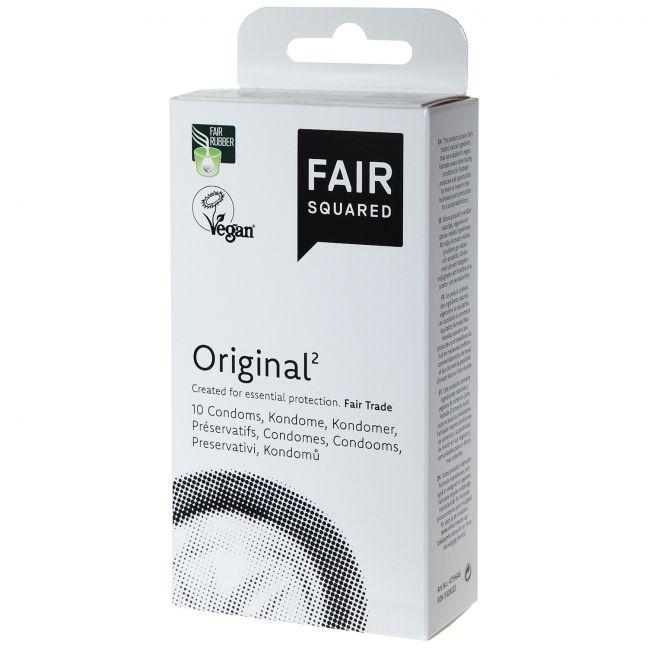 Fair Squared Original Vegaaniset Kondomit 10 kpl