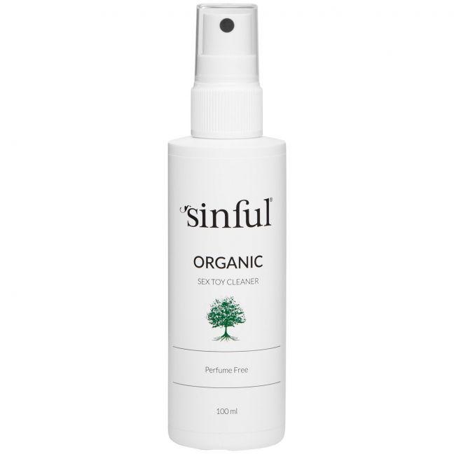 Sinful Luonnonmukainen Seksilelun Puhdistussuihke 100 ml