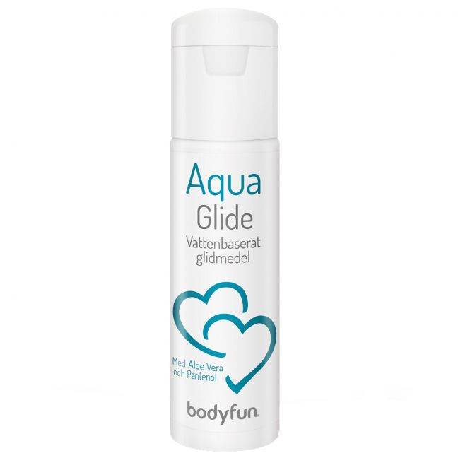 Bodyfun Aqua Glide Vesipohjainen Liukuvoide 100 ml