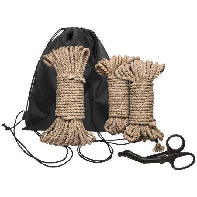 Kink Bind & Tie Initiation Bondage-setti 33 m