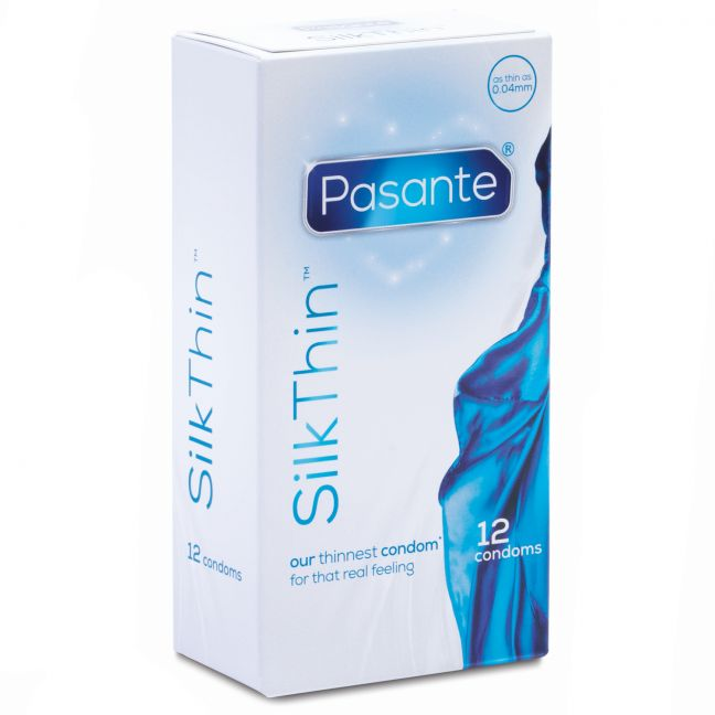 Pasante Silk Thin Kondomit 12 kpl