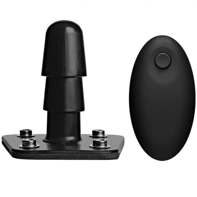 Vac-U-Lock Värisevä Tappi Johdottomalla Kaukosäätimellä