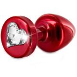 Diogol Anni Heart T1 Anustappi Kristallilla 25 mm