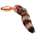 Tailz Fox Tail Lasinen Anustappi Hännällä