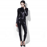 Fever Wetlook Miss Whiplash Catsuit