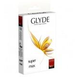 Glyde Supermax Vegaaniset Kondomit 10 kpl