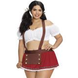 Dreamgirl Plus Size Heidi Rooliasu