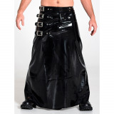 Mister B Rubber Long Buckle Skirt