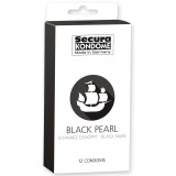 Secura Black Pearl Kondomit 12 kpl
