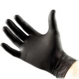 Sorte Latex Handsker