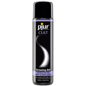Pjur Cult Latex Dressing Aid ja Hoitoaine 100 ml
