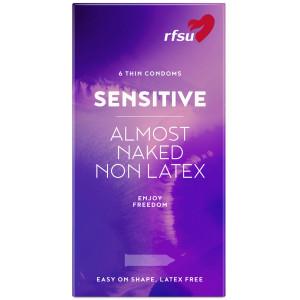 RFSU So Sensitive Lateksittomat Kondomit 6 kpl