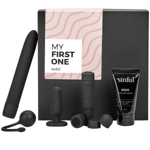 Sinful My First One Aloittelijan Seksilelupakkaus ja A-Z Opas