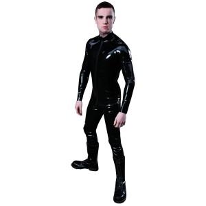 Mister B Rubber Full Bodysuit Vetoketjulla