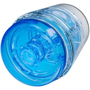 Main Squeeze Pop-Off Optix Crystal Blue Masturbaattori