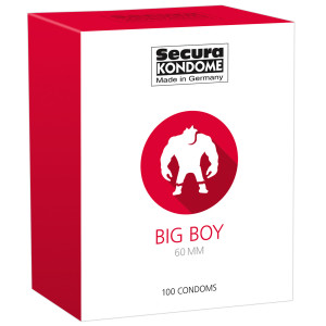Secura Big Boy Kondomit 100 kpl