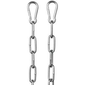 Rimba Metalliketju Karbiinihaoilla 100 cm