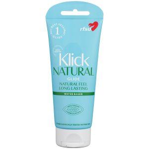 RFSU Klick Natural Glide Vesipohjainen Liukuvoide 100 ml