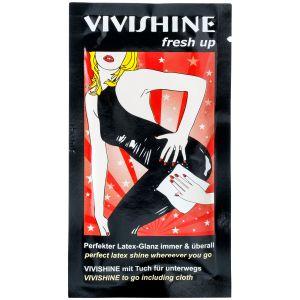 Vivishine Latex Fresh Up Pyyhkeet 10 kpl