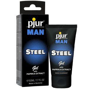 Pjur Man Steel Hierontageeli 50 ml
