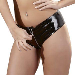 Black Level PVC-alushousut Vetoketjulla