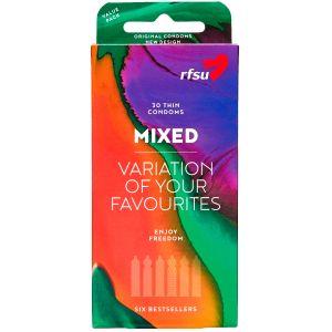 RFSU Mixed Kondomit 30 kpl